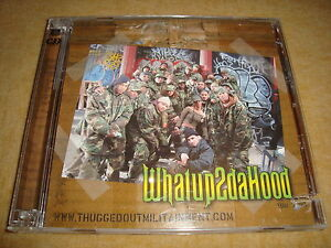 THUGGED OUT MILITAINMENT - What Up 2 Da Hood (CD + BONUS-DVD) CAPONE NORE NATURE