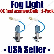Fog Light Bulbs Upgrade 2-Pack fits Listed Volkswagen Vehicles H355 CVSU2