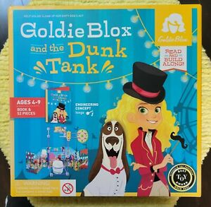 GoldieBlox and the Dunk Tank Construction Toy & Story Book Kids' Engineering Kit