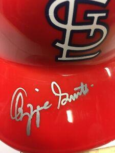 Cardinals Ozzie Smith Autographed helmet signed
