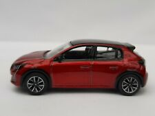 NOREV 3 inches 1/64. Peugeot 208 2019 Red Elixir. New IN Box