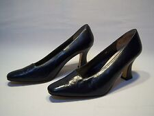 Vintage Skyelights Casual Leather High Heels Women's Size 8W