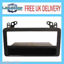 FP-11-03 TOYOTA AVENSIS VERSO 2002 ONWARDS BLACK SINGLE DIN FASCIA FACIA ADAPTOR