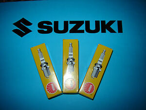 NGK B7ES Set x 3 Spark Plugs Suzuki GT 380 550  J K L GT380 GT550  UK FREEPOST