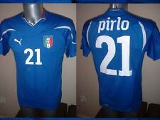 "ITALIA ITALIA NIKE Pirlo Adulto S 38"" SHIRT JERSEY FOOTBALL SOCCER JUVENTUS TRIKOT"