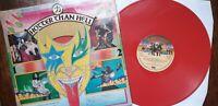"KISS, ""HOTTER THAN HELL"", MEGA RARE, ORIGINAL, RED VINYL, UK, PYE LP !!"