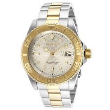 Invicta 14343 Men's Pro Diver Automatic Gold Dial Two Tone Bracelet Dive Watch