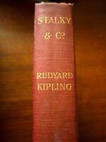 "Rudyard Kipling 1908  Pocket Edition Of ""STALKY & CO"". Macmillan & Co"