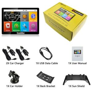 """2021 mappings 7""""Truck Sat Navs 16gb SD CARD + 2nd Set off Maps on HD"""