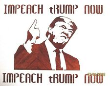 Donald Trump Impeach Now Stencil/Template Reusable 10 mil Mylar