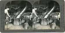 Canada MONTREAL Beet Pulp Juice Flowing To Tanks Stereoview 20944 T210 20134 fx