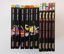 11x Manga-Sammlung - Dragon Ball Z. Nr. 2+3+7+8+9/Dragon Ball Nr.10+13+15+38+40