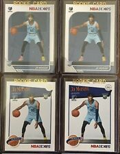 2019-20 NBA Hoops Ja Morant RC Lot Of 4