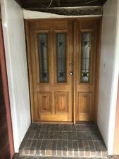 Stained glass door And Side Panel