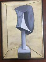 Picasso olio su tela anno 2017 cm 50x70 cornice compresa Falso d' autore