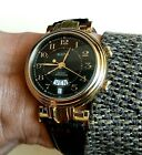 Bulova Swiss Made Automatic Men's Alarm Watch w/ A. Schild 5008 movement