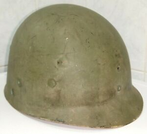 Original WW2 liner M1 casque US helmet stahlhelm Westinghouse USM1