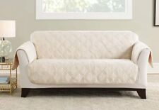 Triple Protection Sofa Furniture Cover Cream