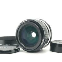 【EXC+++++】Nikon Nikkor 28mm f/2.8 AI Wide Angle MF Lens W/Caps HN-2  From Japan