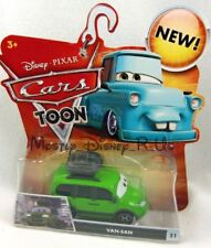 New Disney Pixar CARS Toons Tokyo Drift VAN-SAN Minivan Diecast Vehicle