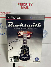 Rocksmith Playstation 3 Game Bundle W/Ubisoft Real Tone Cable PS3 - NEW / SEALED