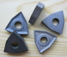 10 PCS NEW TUNGSTEN-CARBIDE INSERTS WN 060304 M40,K20.