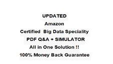 Amazon AWS Certified Big Data Speciality   Exam QA PDF&Simulator