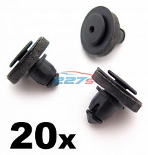 20x volkswagen transporter T5 caddy clips pour porte coulissante rail cover 7H0843658A