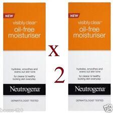 2 x Neutrogena Visibly Clear Oil-Free Moisturiser 50ml Each
