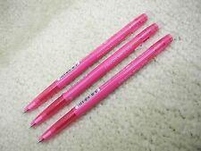 (3 Pens) PILOT ERASER/FRIXION ball slim 0.38mm roller pen, Rose Pink (Japan)