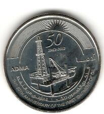 United Arab Emirates 2012 ADMA 50th  First Shipment Oil UNC Dirham Commemorative