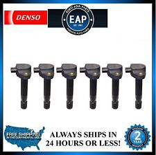 For RL TL TSX Accord Crosstour Accord Odyssey Direct Ignition Coil Set Of 6 New