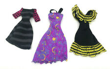 Monster High Create a Monster CAM Doll Clothes Lot 3 Fun Dresses Rare!