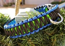 Handmade Paracord Dog Collars - All Sizes Available (Made to Order)
