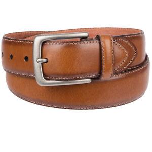 Levis Leather Belt Men's 38mm Jean Belt Tan 11LV120034