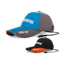 Mens Shimano Daiwa Goretex UV Fishing Cap Hat Snapback Adjustable GameWaterproop