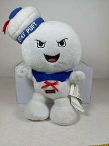 """Classic GhostBusters 8"""" Angry Stay Puft Plush Soft Toy (plays theme song)"""