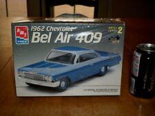 1962 CHEVROLET - BEL AIR 409, MUSCLE CAR, Plastic Model  Kit, Scale 1/25