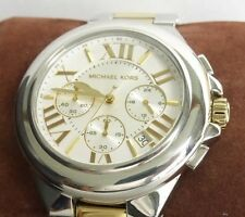 Michael Kors Women's MK5653 Camille Chronograph Two Tone Stainless Steel Watch