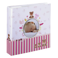 "Hama ""Moni"" Memo Album for 200 Photos with a size of 10x15 cm For Girls Pink"