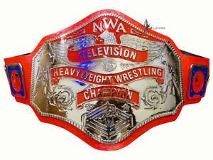 NWA Television Heavyweight Championship Title Zinc 4mm Thick Plates