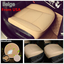 PU Leather Luxury Car Seat Cover Protector Full Surround Seat Cushion USA Stock