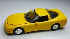 Racing Champions '97 Chevy Corvette - Real Rider Rubber Tires, Opening Hood Car