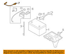 Infiniti NISSAN OEM 06-10 M35 Battery-Negative Cable 24080EH100
