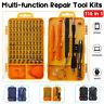 32/45/115PCS Magnetic Precision Screwdriver Set Laptop Multifunction Repair Tool