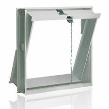 Fuchs Design 42 x 43 cm Ventilation Aile pour Instalation dans en Mur - Blanche