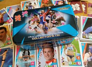 Official London 2012 Adrenalyn XL 193 Different Trading Cards & Collector's Tin