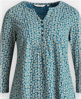 NEW Seasalt Castor Top Penwith Flower Mid Teal RRP £39.95 Save £20 Now £19.95