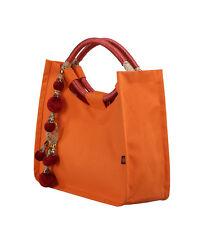 Maahi Arancione Tote Bag in tela Nozze Favore Handbag
