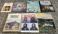 Lot of 7 PASTEL PAINTING Art Books Paint Artist How To Techniques Lesson Guide